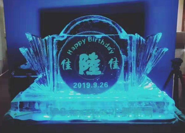 江苏注酒冰雕