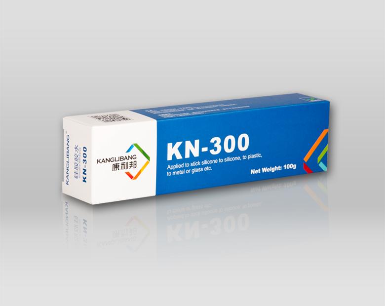 KN-300发泡硅胶条粘接胶水产品