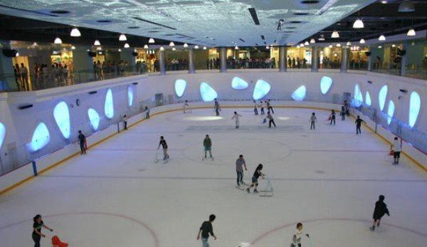 廊坊室内旱冰溜冰场