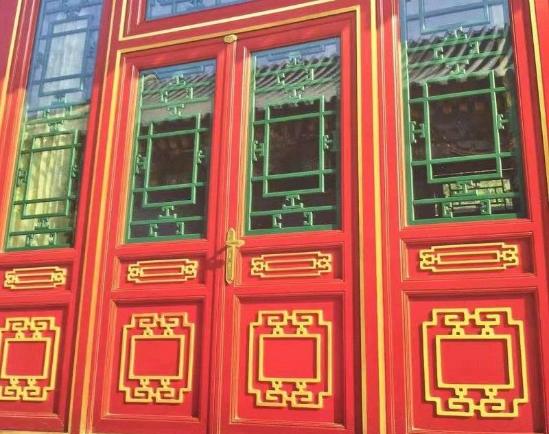 东阳仿古花格门窗生产厂家-工艺精致更精美「冠墅阳光」