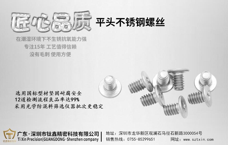 深圳不锈钢螺丝厂