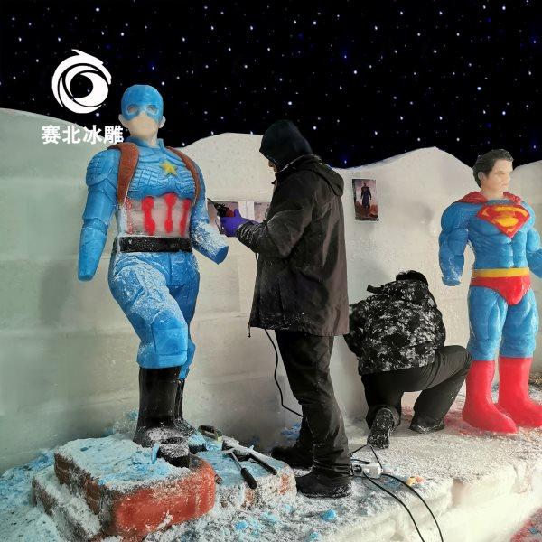 室内冰雕展制作周期