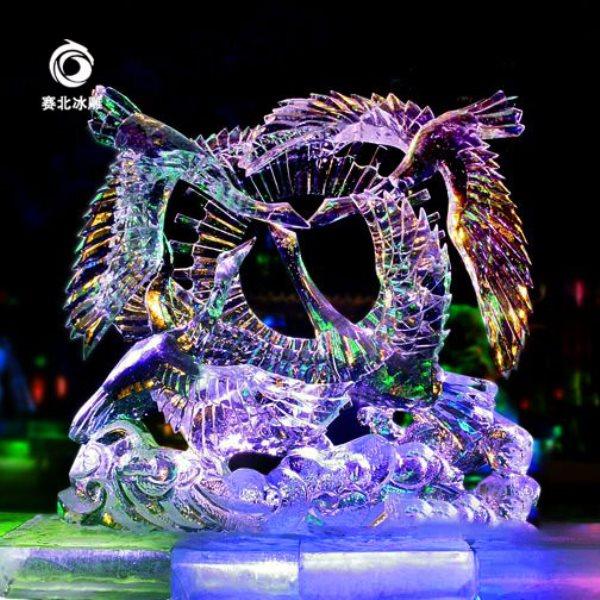 哈尔滨冰雕的制作比赛