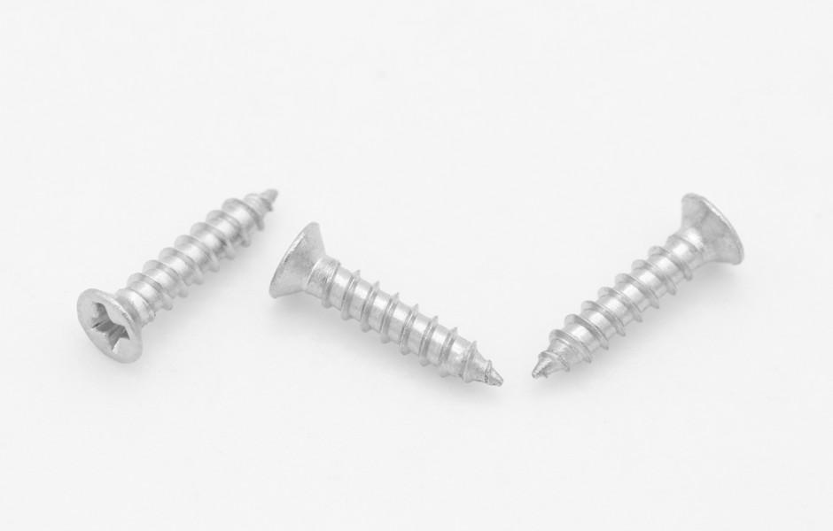 沉頭螺絲和平頭螺絲的差別