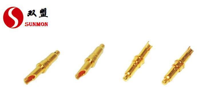 华为8pin pogopin弹簧针,pogopin{连接器厂家}1V1精密定制+[东莞双盟]