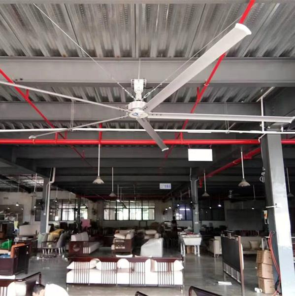 工业吊扇如何安装方法