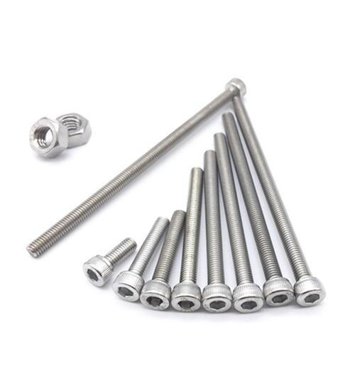 不锈钢加长外六角螺丝