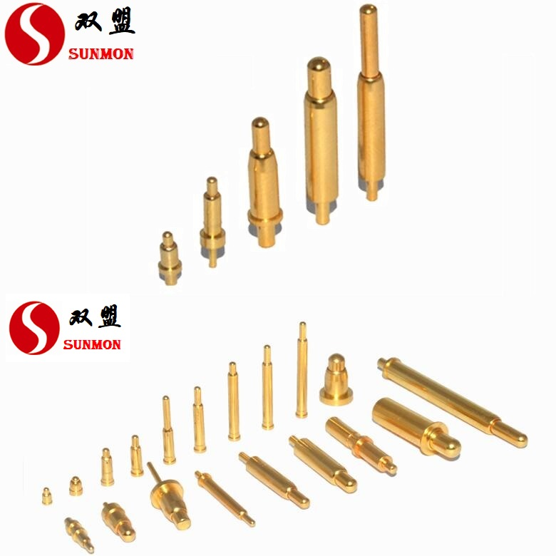 PogoPin弹簧针可靠连接 性能稳定pogopin源头实力工厂[东莞双盟]