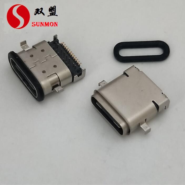 TYPE C连接器与传统USB接口相比,具备哪些优势?[东莞双盟]