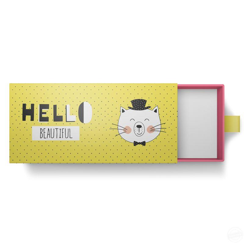 化妆品包装盒定制 抽屉盒