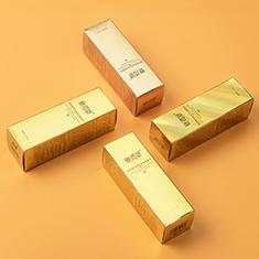 护肤品包装盒 金卡纸包装