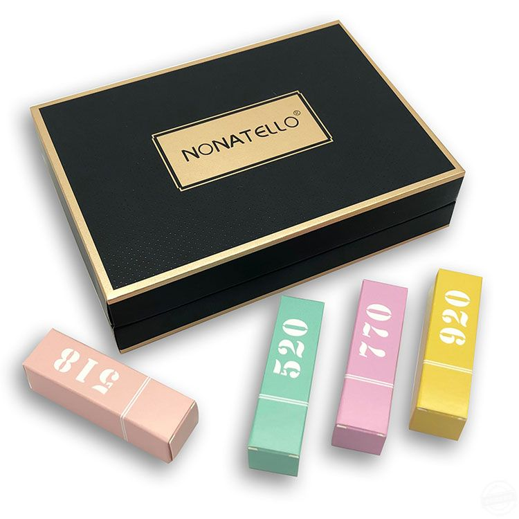 化妆品包装盒定制 口红包装