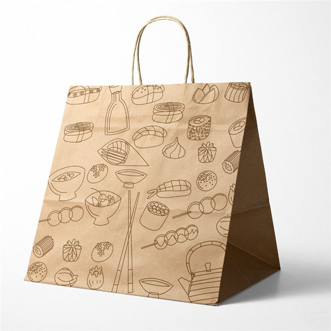 牛皮纸手提袋 纸袋包装