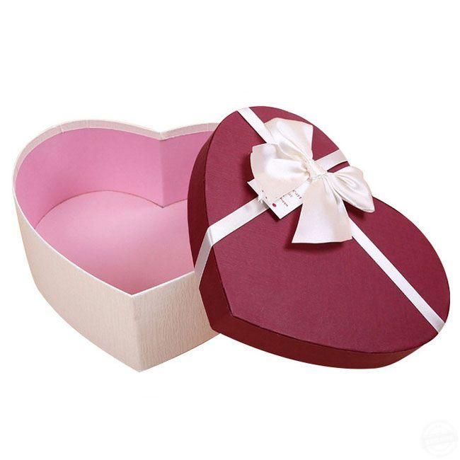 礼品盒包装 心形礼盒