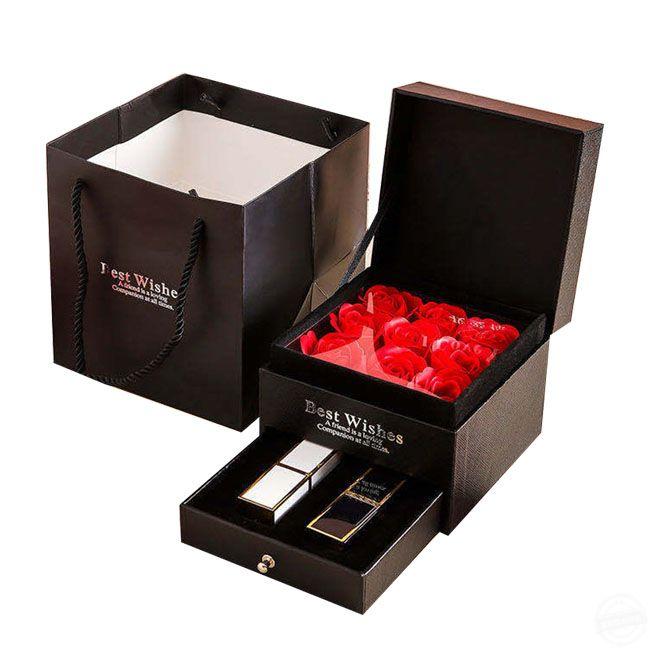 礼品包装盒定制 礼品包装盒定制怎样能提高其档次呢/[吉彩四方]