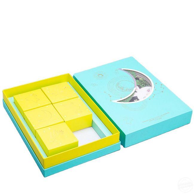 月饼包装盒定制 包装礼盒印刷