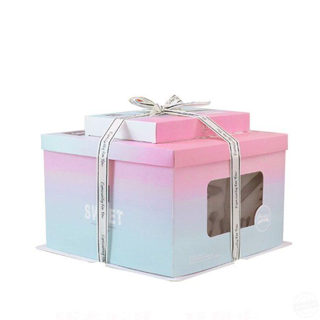 蛋糕的包装盒 蛋糕的包装盒定制材料及流程