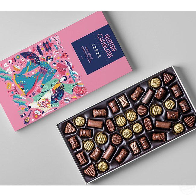 食品包装盒设计 糖果包装盒