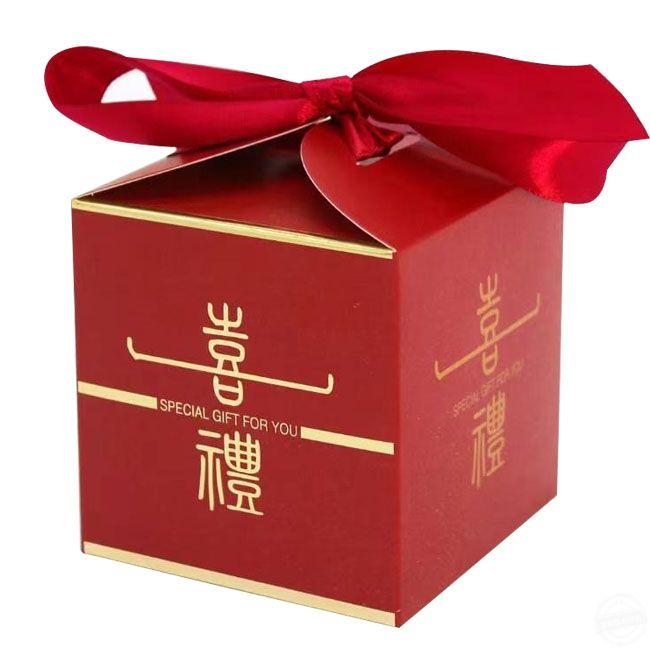 纸盒包装盒印刷  喜糖包装盒