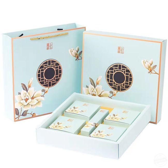 月饼礼盒设计 月饼包装盒定制