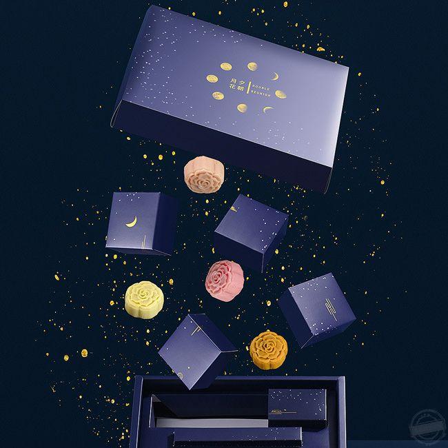 月饼礼盒设计 月饼礼盒定制