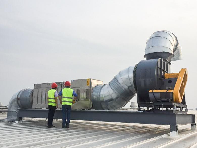 安徽有机废气处理工程