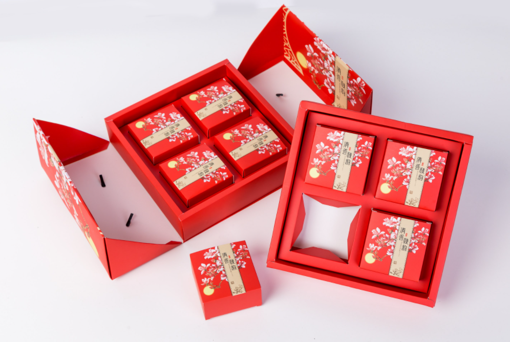 月饼礼盒包装 展示图