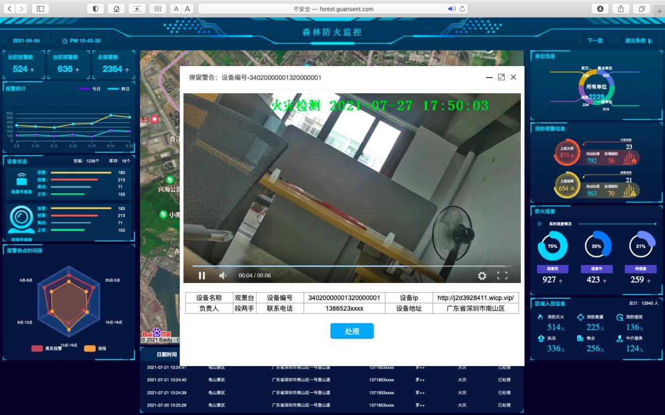火灾视频监控系统