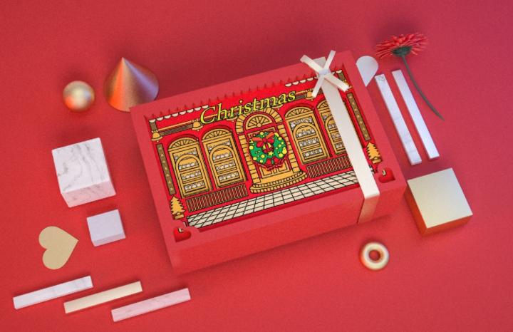 圣诞礼品包装盒